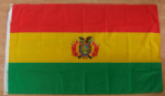 Bolivia Large Country Flag - 3' x 2'.